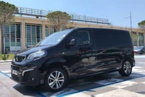 Transport en VTC depuis l'Aéroport de Montpellier jusqu'à 8 passagers