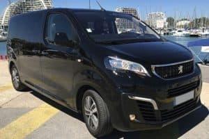 Location Peugeot Traveler avec chauffeur privé