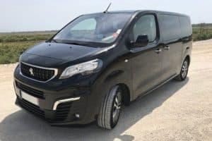 Transport à la demande dans l'Hérault en Peugeot Traveler