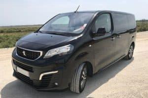 Peugeot Traveller avec chauffeur vers gare Montpellier Saint-Roch